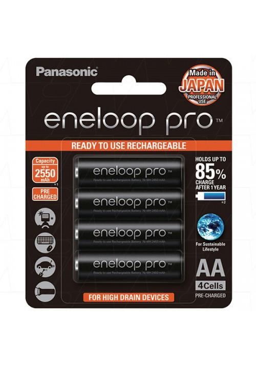 Eneloop Pro AA - Pack of 4