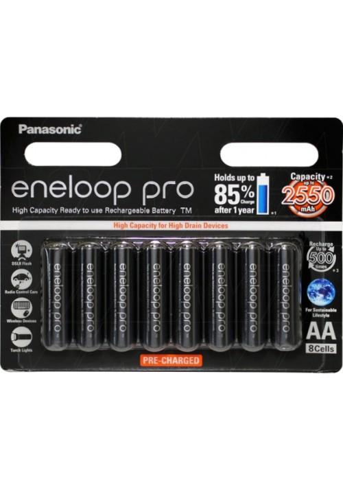 Eneloop Pro AA - Pack of 8