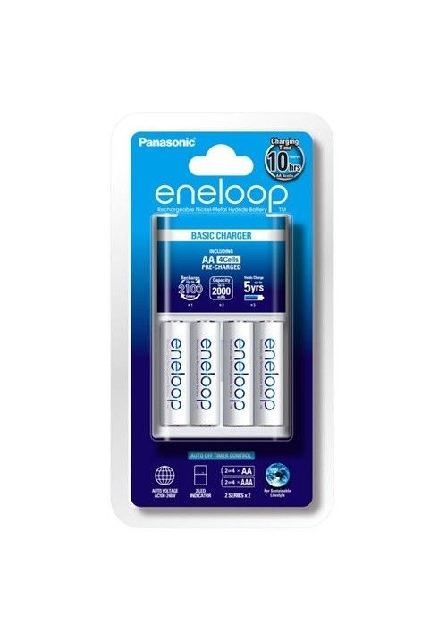 Panasonic Eneloop Slow Charger Kit