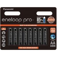 Panasonic Eneloop Pro AA - Pack of 8
