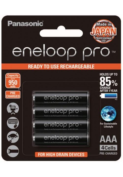 Panasonic Eneloop Pro AAA - Pack of 4