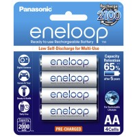 Panasonic Eneloop AA - Pack of 4